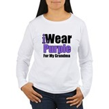 I Wear Purple For Grandma T-Shirt