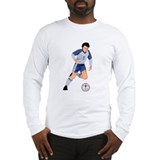 England Soccer Long Sleeve T-Shirt