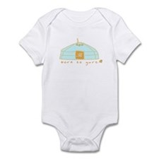 Born To Yurt! Infant Bodysuit
