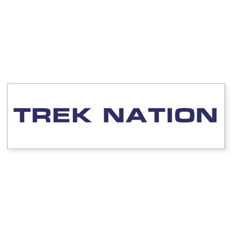 Trek Nation Logo Bumper Sticker