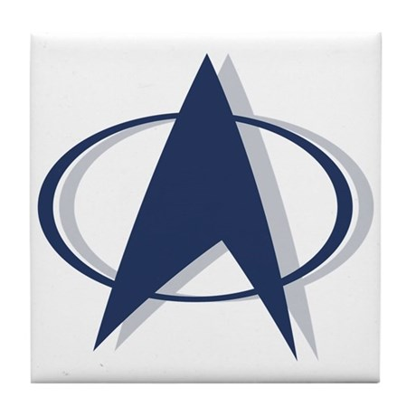 Trek Nation Logo Tile Coaster