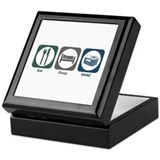 Eat Sleep HVAC Keepsake Box