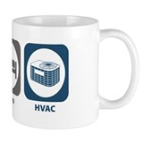 Eat Sleep HVAC Mug