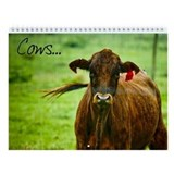 Cows Wall Calendar