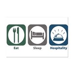 Eat Sleep Hospitality Mini Poster Print