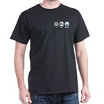 Eat Sleep Hospitality Dark T-Shirt