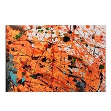Abstract Number 1 Postcards (Package of 8)