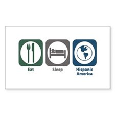 Eat Sleep Hispanic-American Studies Decal