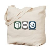 Eat Sleep Herpetology Tote Bag