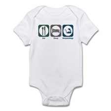 Eat Sleep Herpetology Infant Bodysuit