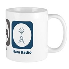 Eat Sleep Ham Radio Mug
