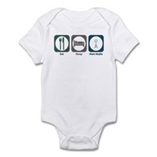 Eat Sleep Ham Radio Infant Bodysuit