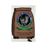 Caffeinated Kitty Blend Rectangle Magnet (10 pack)