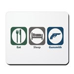 Eat Sleep Gunsmith Mousepad