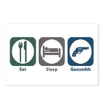 Eat Sleep Gunsmith Postcards (Package of 8)