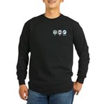 Eat Sleep Gunsmith Long Sleeve Dark T-Shirt