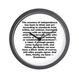 Cute Essence Wall Clock