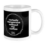 verbally dangerous mug