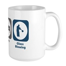 Eat Sleep Glass Blowing Mug