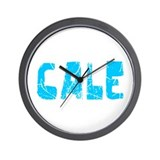 Cale Faded (Blue) Wall Clock
