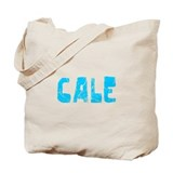 Cale Faded (Blue) Tote Bag