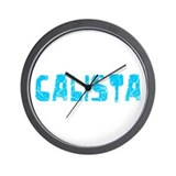 Calista Faded (Blue) Wall Clock