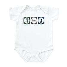 Eat Sleep Game Shows Infant Bodysuit