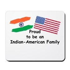 Indian-American Family Mousepad