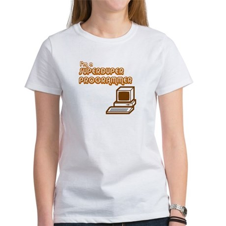 Superduper Programmer Women's T-Shirt