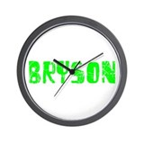 Bryson Faded (Green) Wall Clock