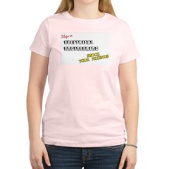 Electrical Engineering Women's Pink T-Shirt