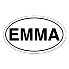 EMMA Oval Decal