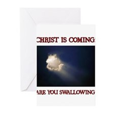 Cute Anti religious Greeting Cards (Pk of 20)