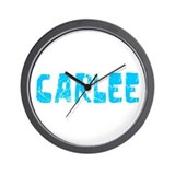Carlee Faded (Blue) Wall Clock
