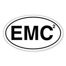EMC2 Oval Decal