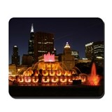 Buckingham Fountain Mousepad