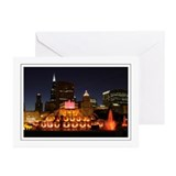 Buckingham Fountain Greeting Cards (Pk of 10)