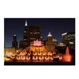 Buckingham Fountain Postcards (Package of 8)