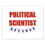 Retired Political Scientist Small Poster