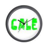 Cale Faded (Green) Wall Clock