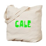 Cale Faded (Green) Tote Bag