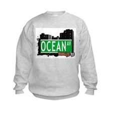 OCEAN AV, BROOKLYN, NYC Sweatshirt