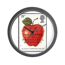Newton Wall Clock Space & Astronomy Stamps Gifts