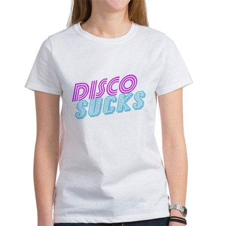 Disco Sucks Womens T-Shirt