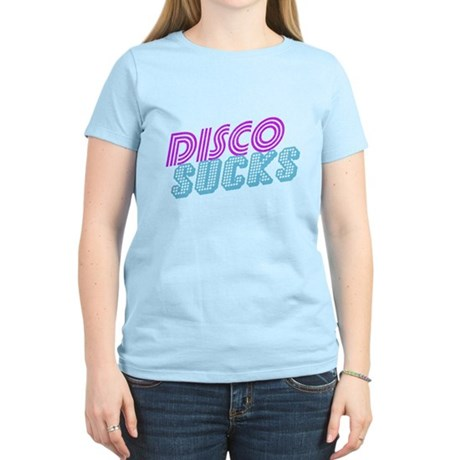 Disco Sucks Womens Light T-Shirt