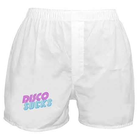 Disco Sucks Boxer Shorts