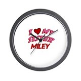 I Love My Sister Miley Wall Clock