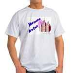 Mormons Are Cool Ash Grey T-Shirt