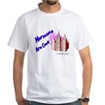 Mormons Are Cool White T-Shirt
