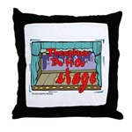 Thespians Do It On Stage Throw Pillow